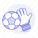 2, ball, equipment, football, gear, glove, soccer, sports icon