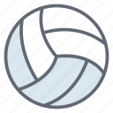 ball, outdoor game, sports accessory, sports equipment, volleyball icon