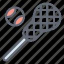 lacrosse ball, lacrosse equipment, lacrosse racket, lacrosse stick, sports accessory, sports equipment icon
