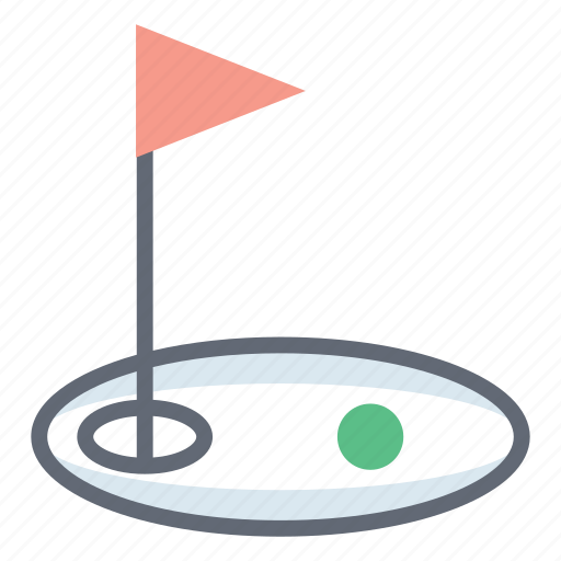 golf club, golf course, golf field, golf sport, outdoor game icon