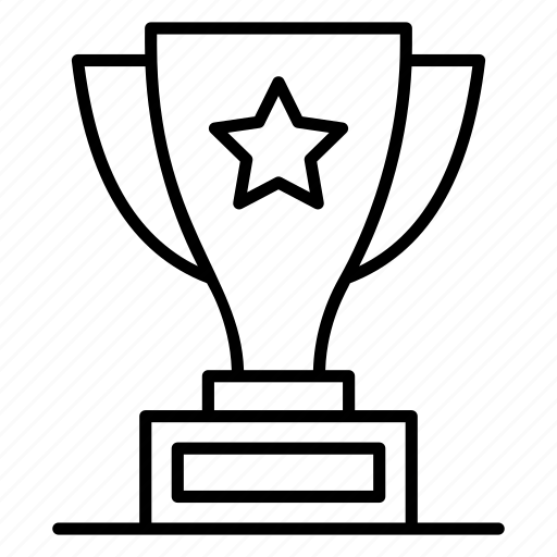 achievement, award, reward, sports trophy, triumph, victory icon