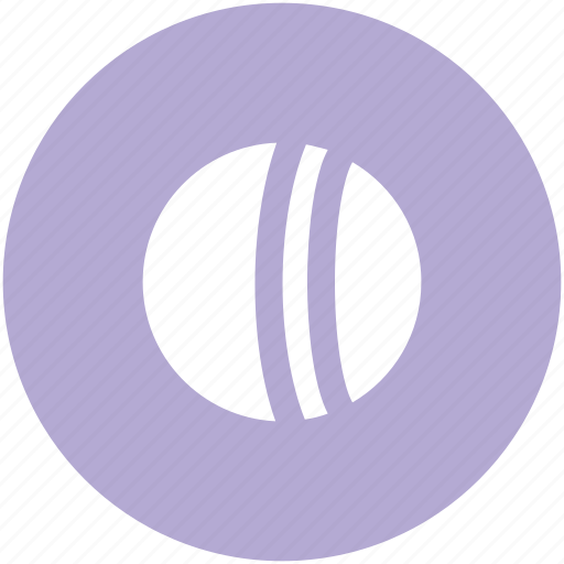 ball, baseball, cricket ball, game, sports, sports ball icon