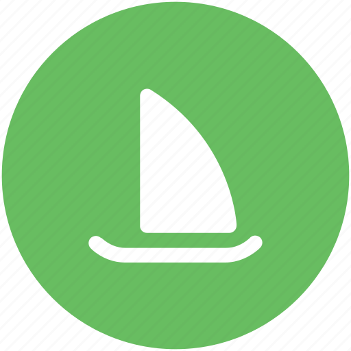 boat, sailing boat, ship, vessel, water transport, yacht icon