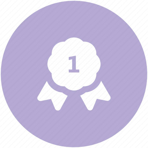 achievement, award medal, badge, medal, position badge, prize icon