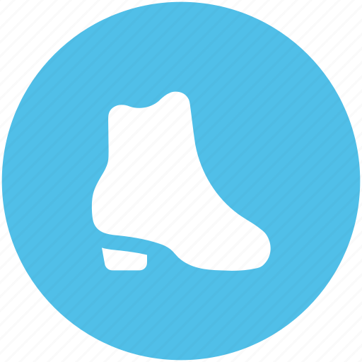 ankle boot, boot, footwear, knee boot, long boot, shoes icon