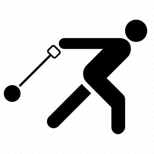 athlete, athletics, hummer, hummer throw, sport, sports, thrower icon
