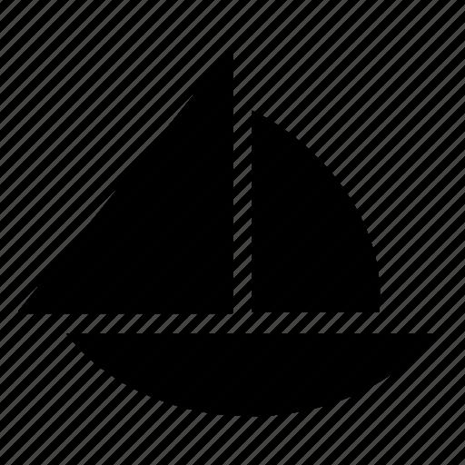 boat, sail, sailboat, sailing, sport, sports, trasport icon