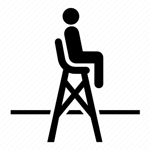 referee, sport, sports, tennis, umpire icon