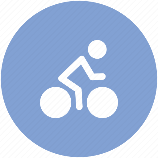 bicycle, bike, cycle, cycling, cyclist, travel icon