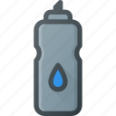 bottle, fittness, sport, sports, water icon