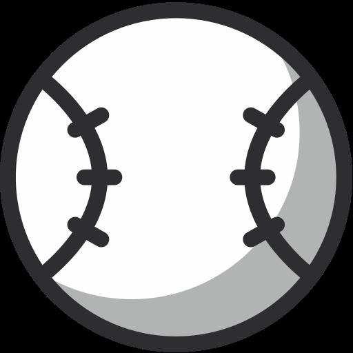 ball, baseball, sport, sports ball, team sports icon
