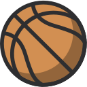 ball, basketball, sport, team sports icon