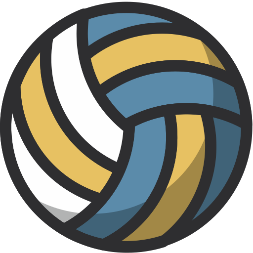 ball, equipment, gym, sport, training, volleyball icon
