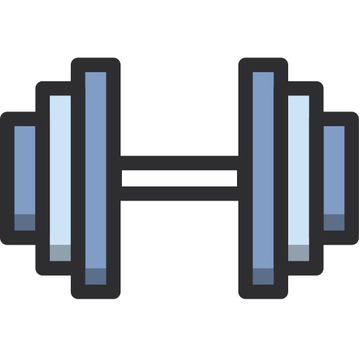 dumbbells, gym, sport, weight icon