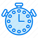 sport, timer, watch icon