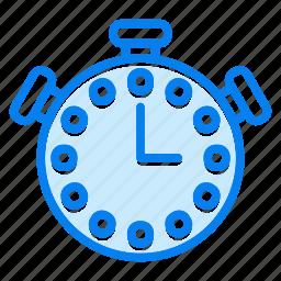 sport, timer, watch icon