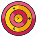 archery, olympics, sports, target icon