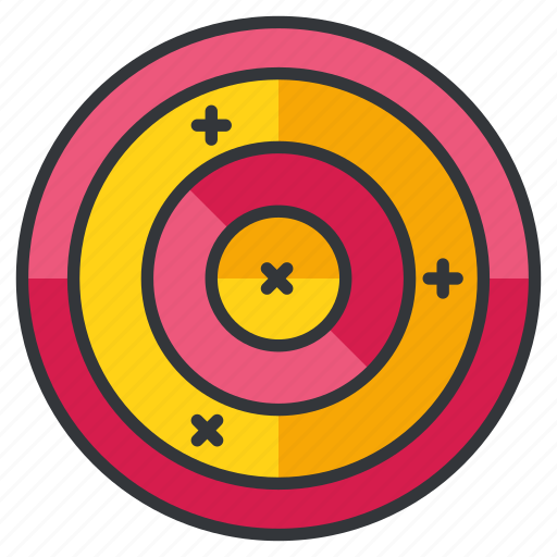 archery, olympics, sports, target icon