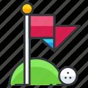 ball, golf, sports