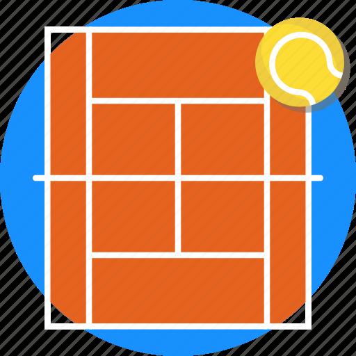 court, mintie, sport, tennis icon
