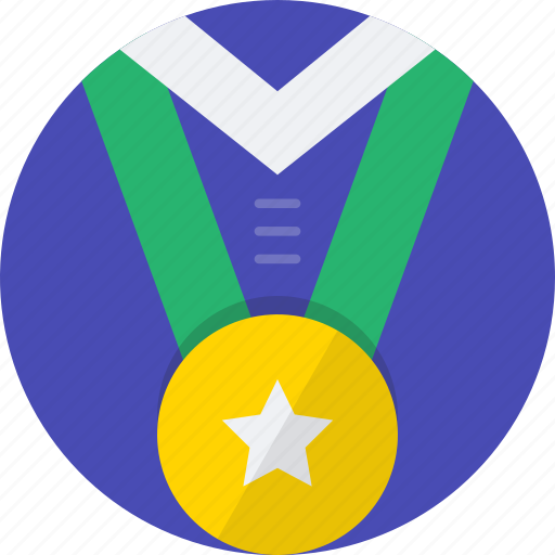 medal, mintie, shirt, sport icon