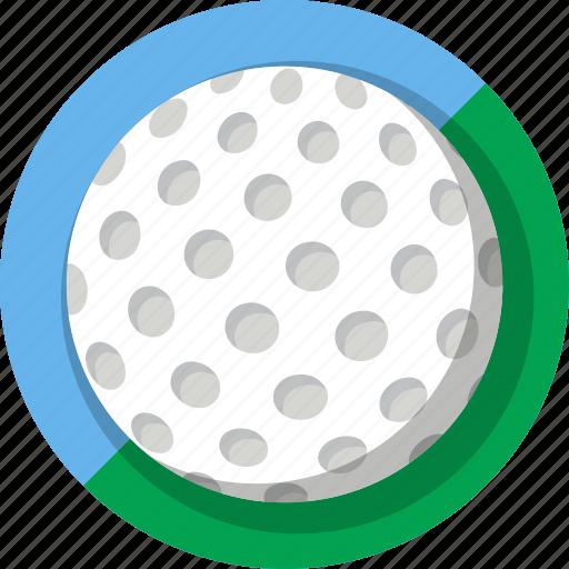 ball, golf, mintie, sport icon