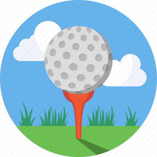 ball, golf, mintie, sport, tee icon