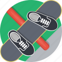 board, extreme, shoes, skateboard, sports icon