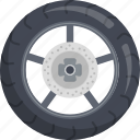bike, car, motorsports, sports, tyre, wheel icon