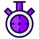 alarm, alert, clock, stopwatch, time, timer, watch icon