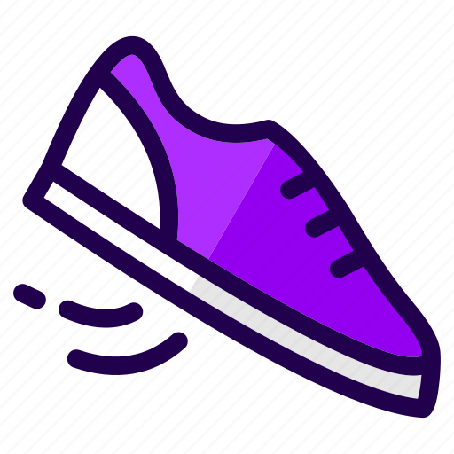 fitness, footwear, run, running, shoes, sports, training icon