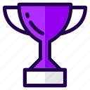 achievement, award, games, prize, sports, trophy, winner icon