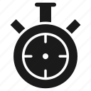 alarm, clock, sports, stopwatch, time, timer, watch icon