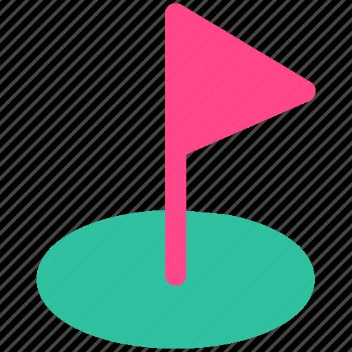 goal, golf, target icon