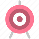 aim, marketing, sport, target icon