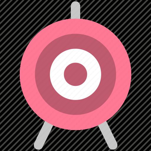 aim, marketing, sport, target icon
