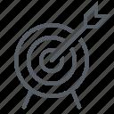 arrow, bullseye, sport, target