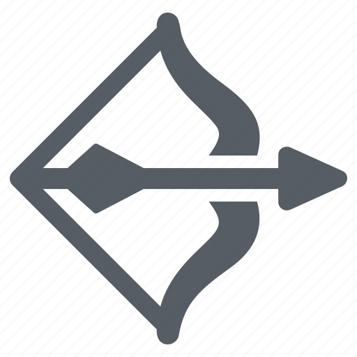 Aim, archery, arrow, bow, sport icon - Download on Iconfinder