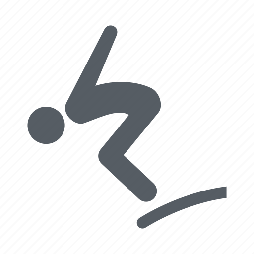 diving, people, sport, water icon