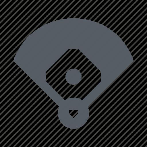 baseball, field, pitch, sport icon