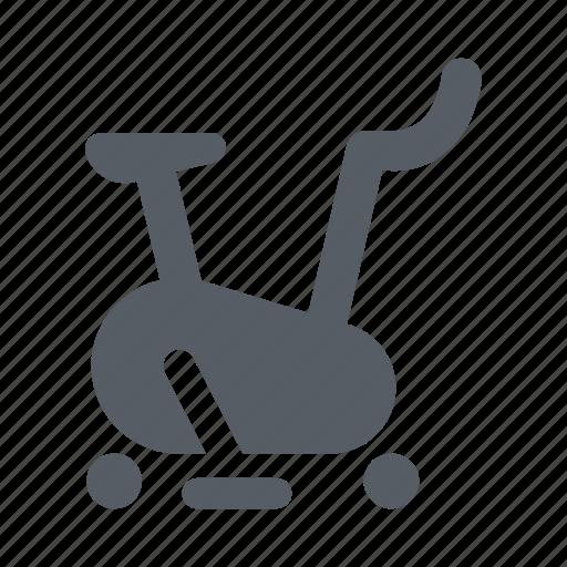 bike, exercise, fitness, hometrainer, sport, treadmill icon