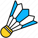 badminton, entertainment, game, shuttlecock, sport, feather