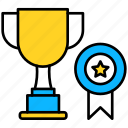 star, trophy, winner, champion, prize, cup, award