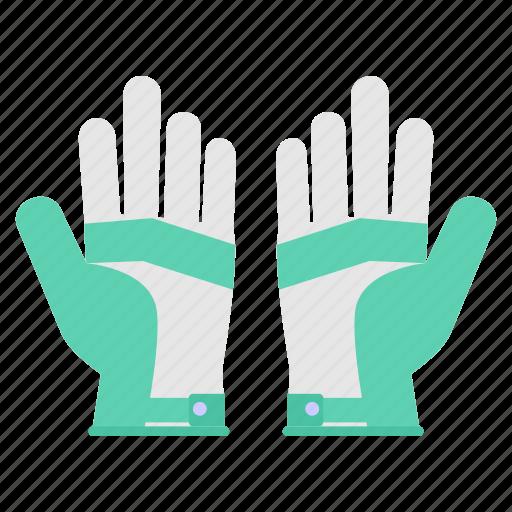 glove, gloves, hand, sports icon