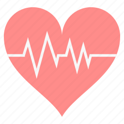 beat, beating, care, heart, love icon