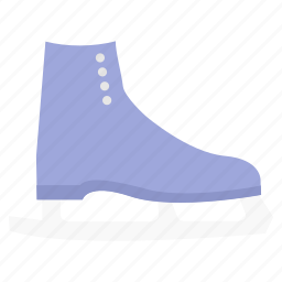 ice, shoe, skating, skiing, sport, sports icon
