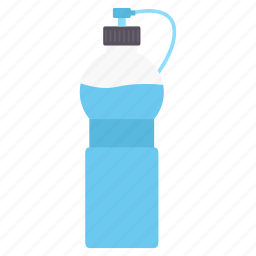 bottle, drink, shaker, sipper, sports, water icon