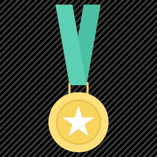 badge, medal, star, winner, winning icon