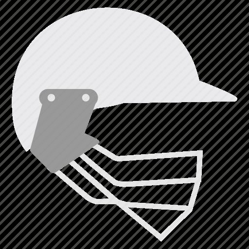acessories, cricket, game, head, helmet, security icon