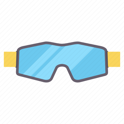 eye, glass, glasses, sports, underwater icon